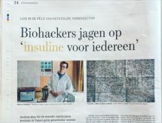 Biohackers jagen op 'insuline voor iedereen'