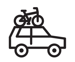noun_Car with bicycle_1164965